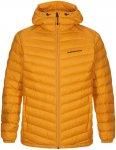 Peak Performance Herren Frost Down Hoodie Jacke (Größe XL, Orange)