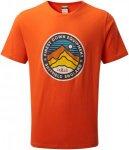 Rab Herren Stance 3 Peaks T-Shirt (Größe M, Orange) | T-Shirts Freizeit > Herr