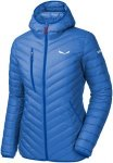 Salewa Damen Ortles Light Down Hooded Jacke Blau L