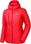 Salewa Damen Ortles Light Down Hooded Jacke Rot XXS