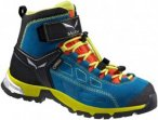 Salewa Kinder Alp Player Mid GTX Schuhe Blau 27