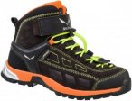 Salewa Kinder Alp Player Mid GTX Schuhe Schwarz 37, 36.5