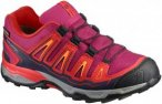 Salomon Kinder X-Ultra GTX Schuhe (Größe 33, Rot)