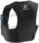 Salomon S-Lab Sense Ultra 5 Set Trailrunningrucksack (Schwarz) | Trailrunningruc
