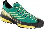 Scarpa Damen Mescalito Knit Schuhe (Größe 39.5, Türkis)   Zustiegsschuhe & Mu