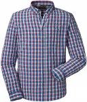 Schöffel Herren Kuopio2 UV LG Hemd (Größe XXL, Blau) | Hemden > Herren