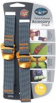 Sea to Summit Tie Down Straps With Hook Release 20mm (Grau)