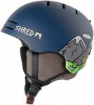 Shred Slam-Cap Noshock Skihelm Blau
