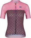 Sportful Damen Checkmate Radtrikot (Größe XS, Pink)