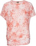 Super.Natural Damen Yoga Loose Printed T-Shirt (Größe M, Orange)