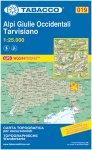Tabacco Alpi Giulie Ocidentali - Travisiano 019 Wanderk.