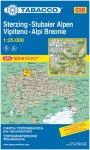 Tabacco Sterzing - Stubaier Alpen 038 Wanderkarte