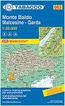 Tabacco Monte Baldo - Malcesine - Garda 063 Wanderkarte