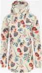 The North Face Damen Print Fanorak Jacke (Größe S, Weiß) | Freizeitjacken & P