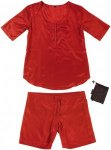Traveler's Tree Damen Adv. Nightwear Shirts und Shorts Rot XL