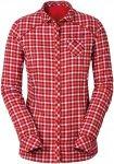Vaude Damen Comici LS Shirt Rot XXL