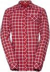 Vaude Damen Comici LS Shirt Rot L