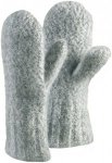 Vaude Damen Himalaya Mitten Handschuhe (Größe M, Grau) | Fäustlinge > Damen