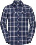 Vaude Herren Algund LS Shirt Blau XL