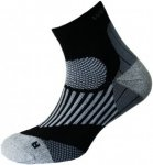 Wapiti Run RS04 Merino Socke (Größe 45, 46, 47, Schwarz) | Füßlinge