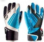 Zanier Gloves Kinder Sillian ZX Handschuhe (Größe M, Blau) | Skihandschuhe > K