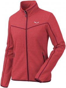 Salewa Damen Fanes PL Full Zip Jacke Rot L