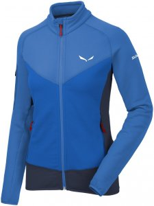 Salewa Damen Ortles PTC Full Zip Jacke Blau XXL
