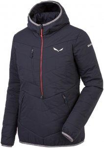 Salewa Damen Puez TW Half-Zip Jacke Schwarz S