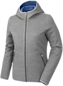 Salewa Damen Woolen Light WO Full-Zip Hoody Grau S