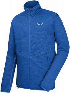 Salewa Herren Puez Melange PL Full-Zip Jacke Blau L