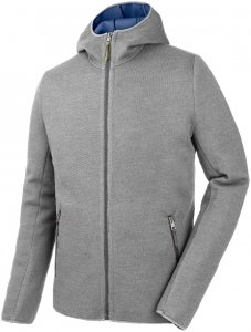 Salewa Herren Woolen Light WO Full-Zip Hoody Grau M