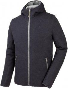 Salewa Herren Woolen Light WO Full-Zip Hoody Schwarz XL