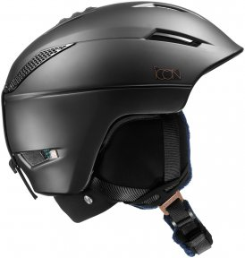 Salomon Damen Icon 2 Custom Air Skihelm Schwarz