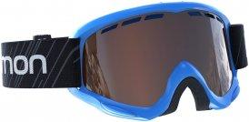 Salomon Kinder Juke Standard Skibrille Blau