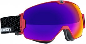 Salomon Xmax Multilayer +Wechselglas Skibrille Rot