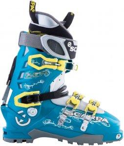 Scarpa Damen Gea Skitourenstiefel Schwarz 36.5
