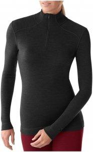 Smartwool Damen NTS Mid 250 Zip-Shirt Schwarz XS