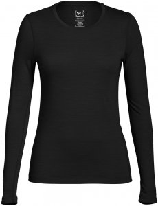 Super.Natural Damen Base 175 Longsleeve Schwarz XL