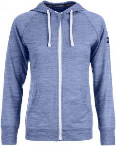 Super.Natural Damen Essential Hoody Jacke Blau S