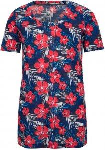 Super.Natural Damen Oversize Digital Printed T-Shirt Rot XL